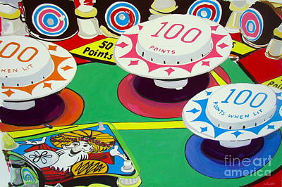 Painting - Pinball Wizard by Beth Saffer