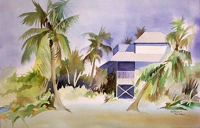 Painting - Pine Island Fl. by Richard Willows