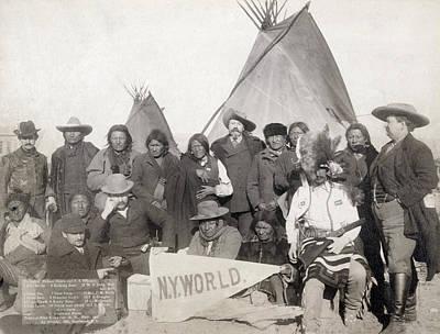 Photograph - Pine Ridge Reservation by Granger