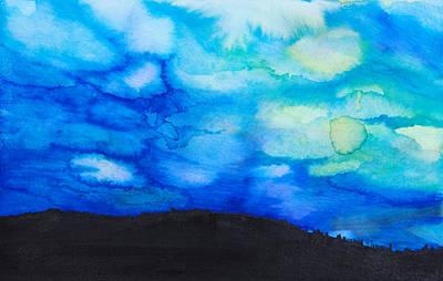 Painting - Pine Silhouette by Tara Thelen