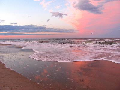 Photograph - Pink Beach by Jennie  Richards