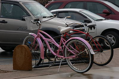 Photograph - Pink Bicycle by Randy J Heath