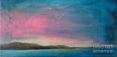Pink Dusk Original by Vesna Antic