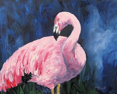 Pink Flamingo IIi Original