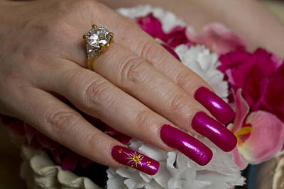 Photograph - Pink Nails by Donna Munro