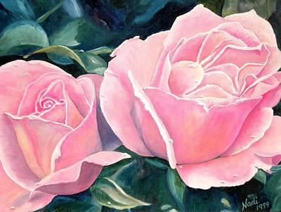 Photograph - Pink Roses by Renate Nadi Wesley