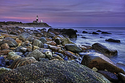 Photograph - Pink Skies At Montauk Point by Rick Berk