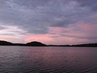 Pink Sky Lake Original