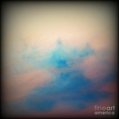 Sunset Abstract Photograph - Pink Sunset Clouds by Emilio Lovisa