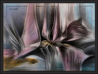 Pastel - Pinkpetalscape 2010  by Glenn Bautista