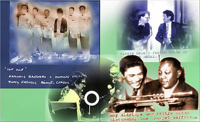 Photograph - Pinoy Foreign Jazz Greats by Glenn  Bautista