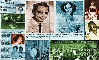 Photograph - Pinoy Jazz Greats by Glenn Bautista