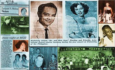 Photograph - Pinoy Jazz Greats by Glenn Bautista