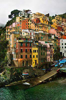 Photograph - Pioggia-riomaggiore by John Galbo