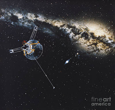 Photograph - Pioneer 10 by Science Source