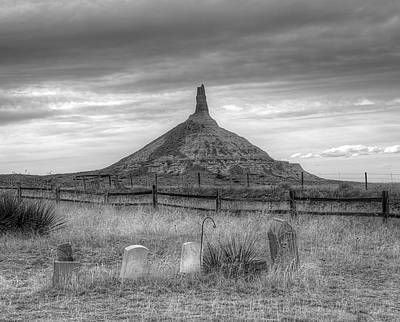 Photograph - Pioneers Rest by HW Kateley