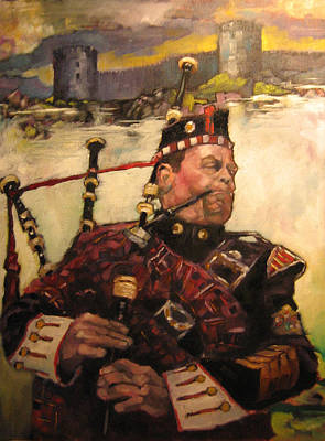 Painting - Piper 2012 by Kevin McKrell