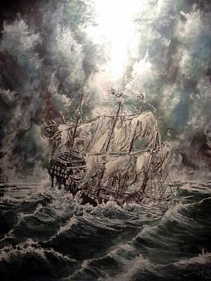 Pirate Islands 2 Original by Robert Tarrant