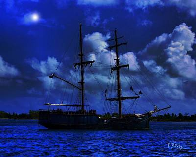Photograph - Pirate's Blue Sea by Patrick Witz