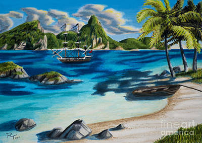 Pirate's Cove Original by Robert Thornton