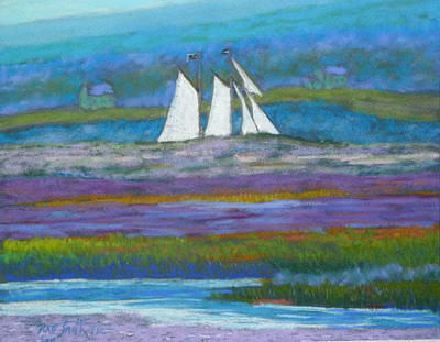Pirates On The Lahave River Art Print by Rae  Smith PSC