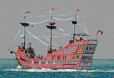 Pirates Ransom Art Print by David Lee Thompson