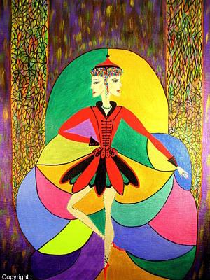 Pirouette Art Print