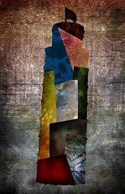 Tuscan Digital Art - Pisa Grunge by Lauren Goia