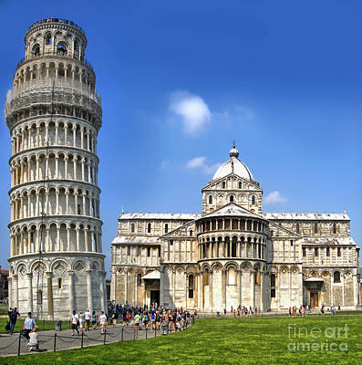 Pisa Italy - Piazza Dei Miracoli - 01 Art Print by Gregory Dyer