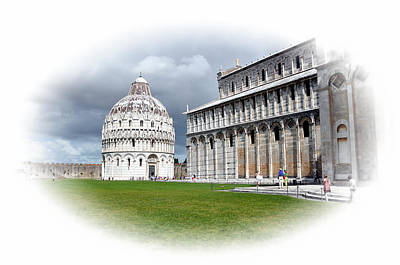 Photograph - Pisa Italy by Allan Rothman