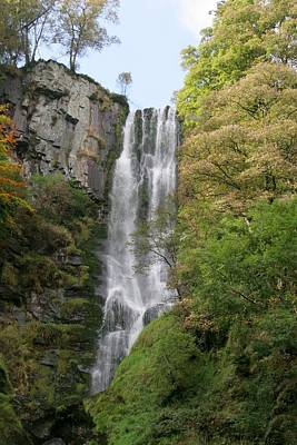 Photograph - Pistyll Rhaeadr Fall by Ed Lukas