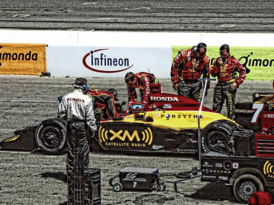 Photograph - Pit Crew by Donna Blackhall