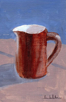 Art Print featuring the painting Pitcher by Lou Belcher