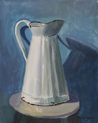 Pitcher Original by Nancy Rodger