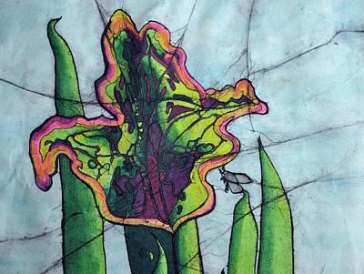Pitcher Plant Art Print by Shari Carlson