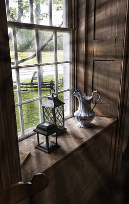 Lancaster Photograph - Pitcher Window by Peter Chilelli