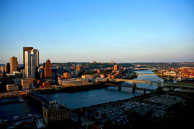 Photograph - Pittsburgh Skyline by Van Corey