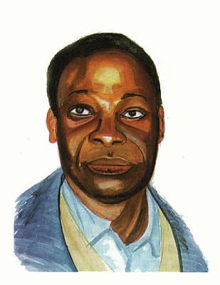 Pius Ngandu Nkashama Art Print