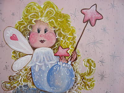 Painting - Pixie Dust by Leslie Manley