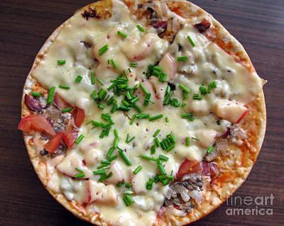 Photograph - Pizza. Homemade And Fresh by Ausra Huntington nee Paulauskaite
