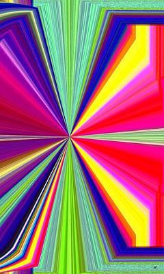 Digital Art - Pizzazz 38 by Will Borden