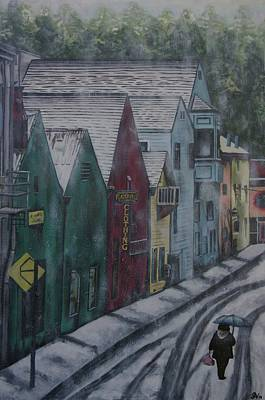 Placerville Painting - Placerville by Gracie Villareal