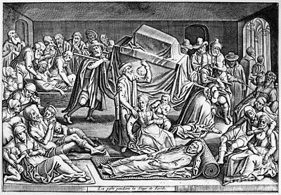 Plague: Leiden, 1574 Art Print