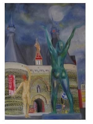 Mechelen Painting - Plaisance by Dirk Ghys