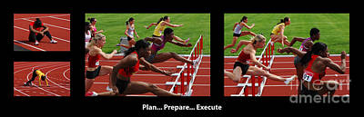 Womens Photograph - Plan Prepare Execute With Caption by Bob Christopher