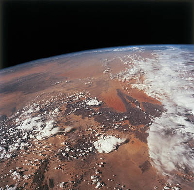 Planet Earth Viewed From Space Art Print by Stockbyte