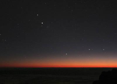 Planetary Conjunction, Optical Image Print by Eckhard Slawik