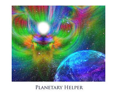 Planetary Helper Art Print by Jeff Haworth