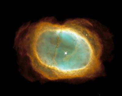 Planetary Nebula Photograph - Planetary Nebula Ngc 3132 by Nasaesastscihubble Heritage Team