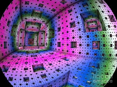 Digital Art - Planetary Portal by Vicki Lynn Sodora
